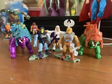 MegaConstrux He-Man Skeletor minifigures - from various MOTU sets - New/Loose
