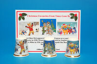 Christmas Favourites fromTimes Gone By Our New Box Set ChinaThimbles + Card B100