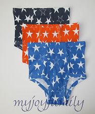 HANNA ANDERSSON Organic Unders Underwear Briefs Bright Stars L 140 150 10 12 NWT