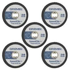 Dremel SC476 5 x EZ SpeedClic Plastic Cutting Wheels Speed Clic Pack