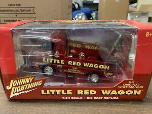 LITTLE RED WAGON BILL MAVERICK GOLDEN JOHNNY LIGHTNING 1/24 Die Cast Replica.