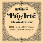D'Addario J4501 - Corde au détail Pro-Arte Mi aigu guitare classique for sale