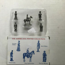 1992 Americana Pewter Collection Ah19 Pony Express Rider