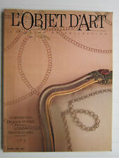 L'OBJET D 'ART N° 2 / Le goût Turc/Burne Jones/bijoux/porcelaines/Piémont
