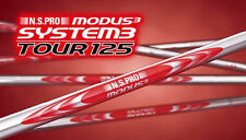 NIPPON SHAFT N.S.PRO MODUS3 SYSTEM3 TOUR 125 IRON Shaft Set6 (5-W) X New! @0BF