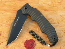 Messer Pohl Force Alpha Five Survival Tanto Wellenschliff 1047