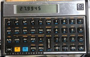 Hewlett-Packard hp 15c Calculator Tested Works Vintage New Batteries