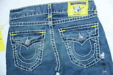 True Religion Men Yellow  Ricky Super T $350 40 x 34 MMD859TC6