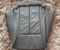MERCEDES E CLASS W210 FRONT LEFT SEAT BACK COVER LEATHER GENUINE 2109104147 9B50
