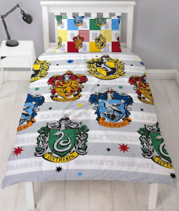 """Harry Potter NEW EDITION  """" QUARTERS """" Single Duvet Cover Set FREE DELIVERY 🚚!!"""