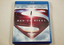 Man of Steel Blu-ray & DVD 3-Disc Set NO DIGITAL HD ULTRAVIOLET COPY