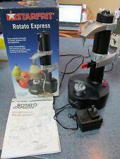 Starfrit Black Rotato Express Electric Fruit Vegetable & Potato Kitchen Peeler