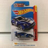 Aston Martin Vantage GT3 #149 * Blue * 2015 Hot Wheels ZB27