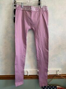 Gymshark women leggings full length medium light purple