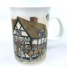 Dunoon Coffee Mug Old Bull Pub Bone China Tea Cup 10oz Country Inns England