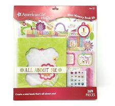 American Girl Crafts Mini Memory Book 269 Pieces New