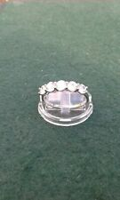 Womens Jewellery 9ct White Gold Five Stone Cubic Zirconia Ring
