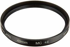 MARUMI Camera Filter Close-up Lens MC + 4 49mm For Close-up Shooting NEW