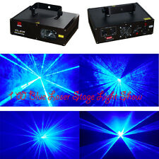 1W 445nm Blue DMX DJ Disco Stage Laser Light Party Laser Lighting