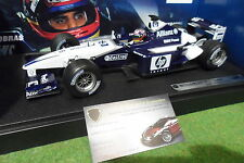 F1 WILLIAMS BMW FW24 MONTOYA #6 au 1/18 HOT WHEELS MATTEL 80430146634 formule 1