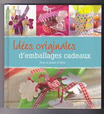 Idées originales d'emballages cadeaux Angelica LENZ