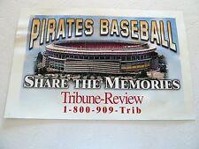 Pittsburgh THREE RIVERS STADIUM  Tribune Review Display Stand Advertisement