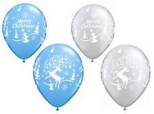 Ballons de fête bleu pour la maison Noël