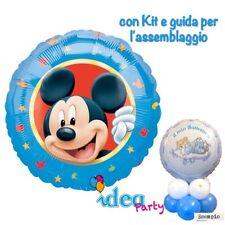 CENTROTAVOLA con PALLONCINO MYLAR TOPOLINO, Addobbi Festa Compleanno Disney