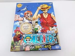 Anime Series Episodes 381-413 One Piece Japan Ver  6 Disc