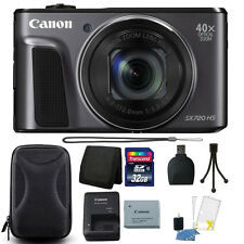 Canon PowerShot SX720 HS 20.3MP 40X Optical Zoom Wifi Digital Camera + Bundle