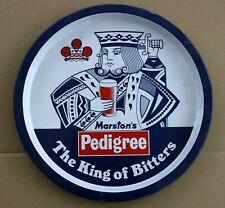 MARSTON'S PEDIGREE KING OF BEERS 1970's Pub Bar Beer drinks tray Retro