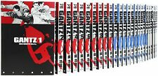 GANTZ 1-37 Comic Complete Set Hiroya Oku Japanese manga book