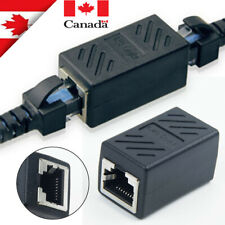 RJ45 Ethernet Coupler Adapter Connector Joiner Cable Extender For Cat 7 6 5 E