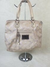 "Coach Poppy Lurex Medium Tote Bag **RETIRED** ""C1282-F16289"""