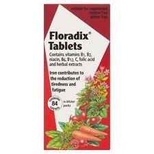 Floradix Iron Supplement - 84 Tablets