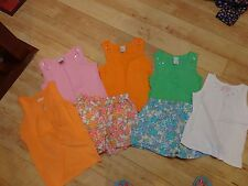 Girl Lot of 7 Lands End Shorts Circo Shirts 7 8 EUC