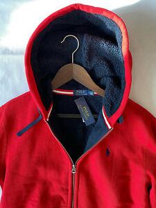 Orginal Polo Ralph Lauren Fleece Jacke Hoodie Gr.2XB