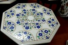 Kitchen Marble Coffee Top Inlaid Handmade Exclusive Table Occasional Decor H3398