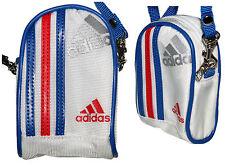 adidas Tasche Geldbörse Portemonnaie france rot weiß blau 11x7x3,5 NEU @54/2