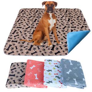 Washable Reusable Dog Pee Mat Waterproof Puppy Training Pad Cat Dog Cushion Mat