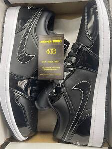 "Nike Air Jordan 1 Retro Low ""All Star Weekend"" Carbon Fiber DD1650-001 Sz 10.5"
