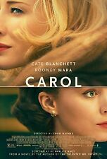 Carol Movie Poster (24x36) - Kate Blanchett, Rooney Mara, Sarah Paulson v1