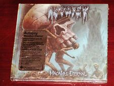 Autopsy: Macabre Eternal - Deluxe Edition CD 2011 Peaceville Rec UK Digibook NEW