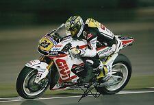 Toni Elias mano firmado LCR Honda 12x8 Foto MotoGP 4.