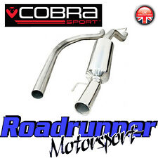 "VX19 Cobra Sport Corsa D SRI Exhaust System 2.5"" Stainless Cat Back NonRes 10-14"