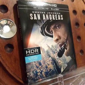 San Andreas   4K Blu Ray Nuovo