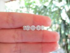 .40 Carat Face Illusion Diamond White Gold Full Eternity Ring 18k MTO sep