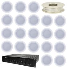 Astounded DistroSound 3 – 120W  20 Ceiling Speaker Cafe Bar Install System