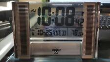 Seiko QHR012SL Radio Controled Clock (NEW)