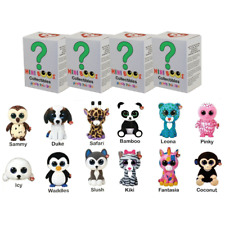 Set of 4 Ty Mini Boos Hand Painted Collectible Figurines Series 1 Blind Box